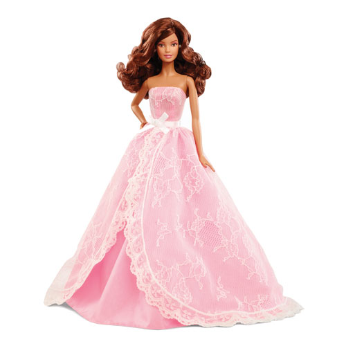 Barbie 2015 Birthday Wishes Brunette Doll