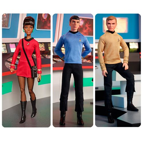 Barbie Star Trek 50th Anniversary Doll Case