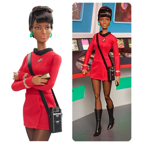 Barbie Star Trek 50th Anniversary Uhura Black Label Doll
