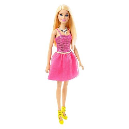 Barbie Glitz Pink Dress Doll