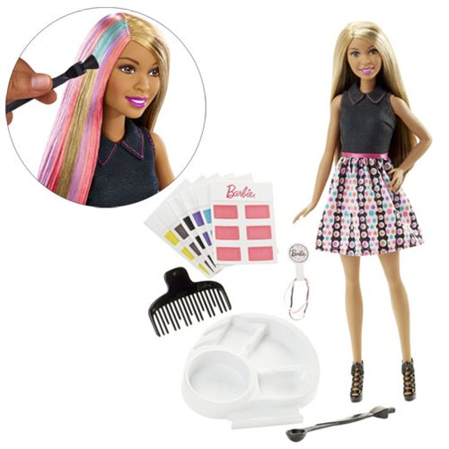 Barbie Mix 'N Color African American Doll