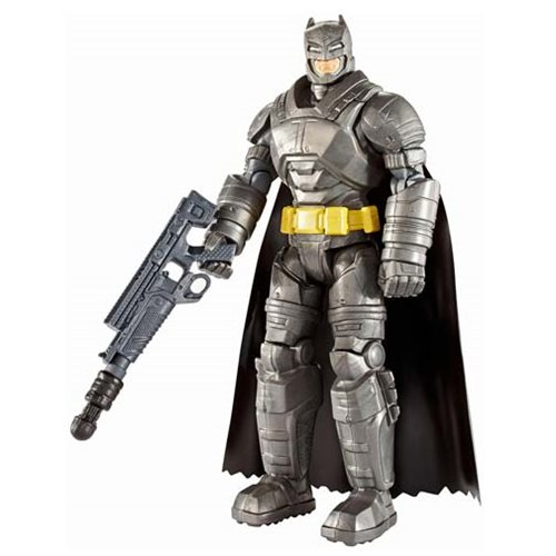 Batman v Superman Batman Battle Armor Basic Action Figure