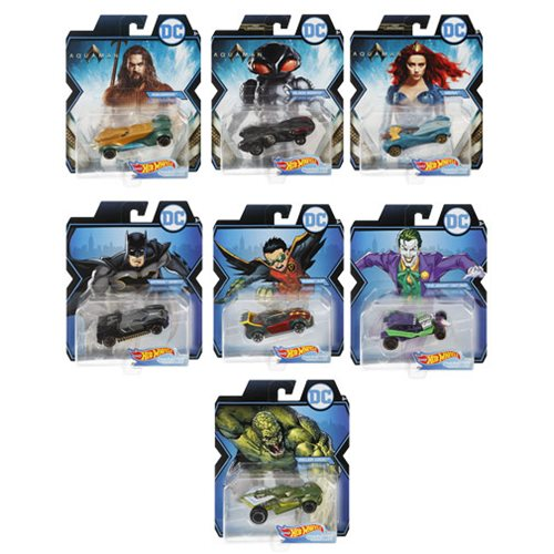 DC Universe Hot Wheels 1:64 Scale 2019 Wave 1 Case