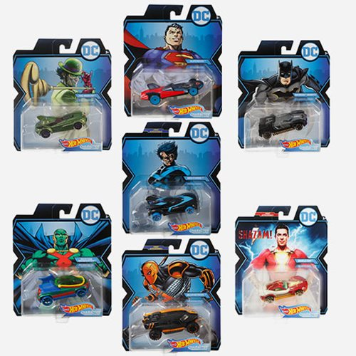 DC Universe Hot Wheels 1:64 Scale 2019 Wave 4 Case