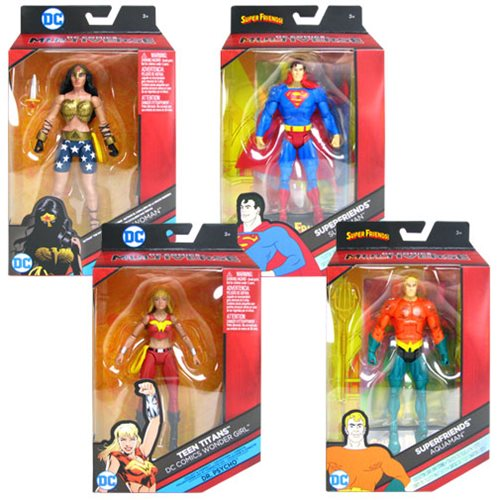 DC Comics Multiverse 6-Inch Action Figure Wave 7 Set
