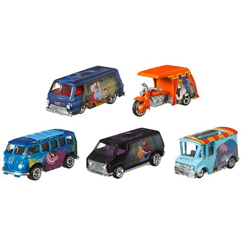 Hot Wheels Disney Classics 2019 Wave 1 Vehicles Case