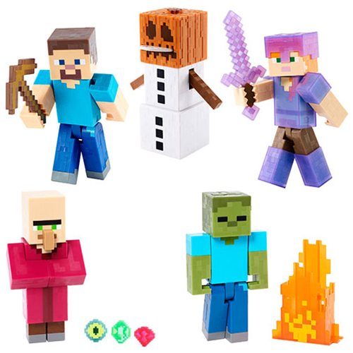 Minecraft Basic Action Figures Series 2 Case