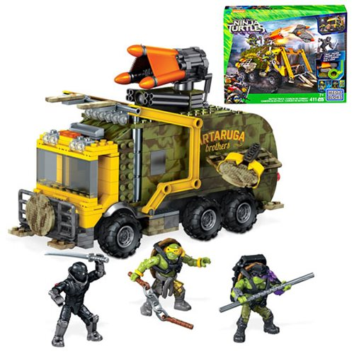 Mega Bloks Tmnt: Out Of The Shadows Battle Truck, Not Mint