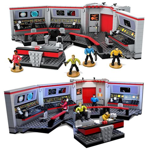 Star Trek: TOS Mega Bloks U.S.S. Enterprise Bridge Playset