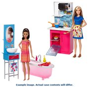 Barbie Home Playset and Doll Case