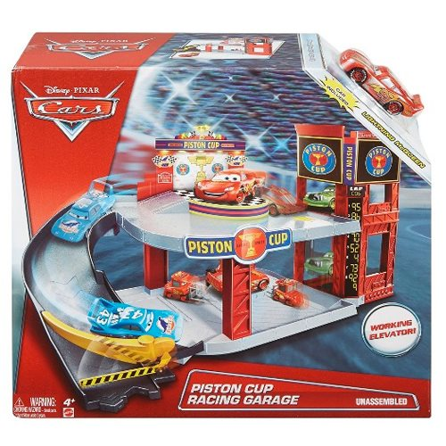 Cars Piston Cup Racing Garage Playset