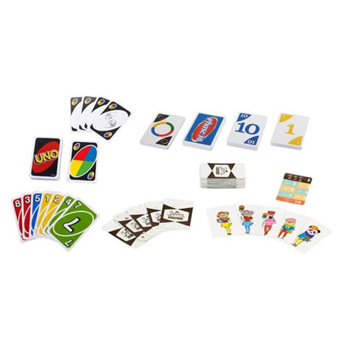 Uno Phase 10 Snappy Dressers Collector Tin Bundle