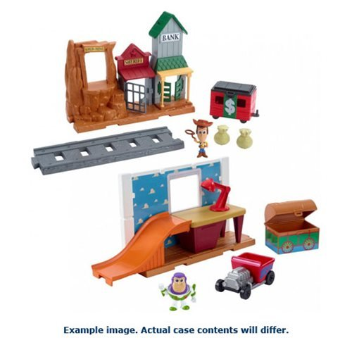 Toy Story Playset with Mini-Figure Case