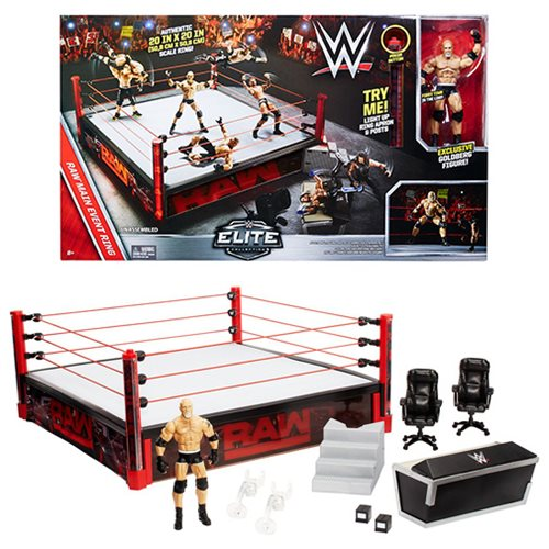 WWE Elite Authentic Scale Raw Main Event