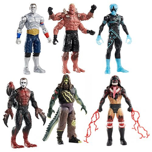 WWE Mutants Superstars Action Figure Set