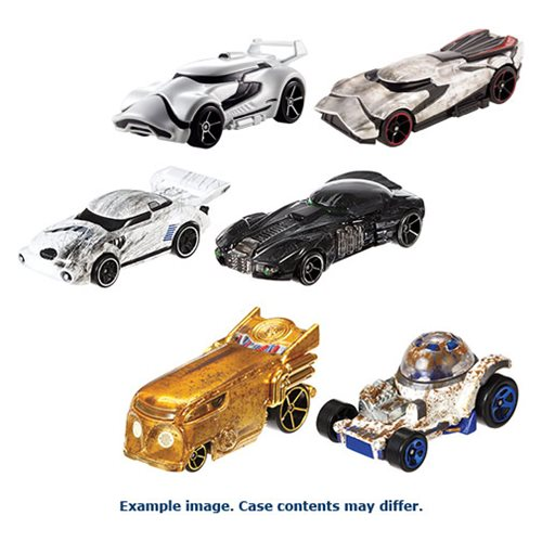 Star Wars Rogue One Hot Wheels Char. Car 2-Pack 2016 Mix 4
