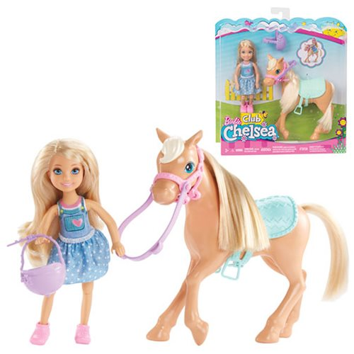 Barbie Chelsea Doll with Pony