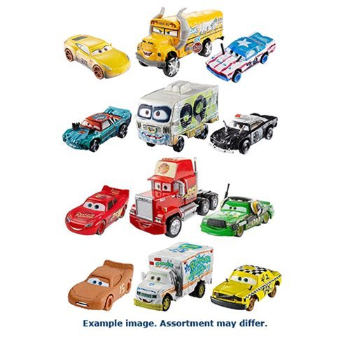 Cars 3 Die-Cast Vehicles 3-Pack Case