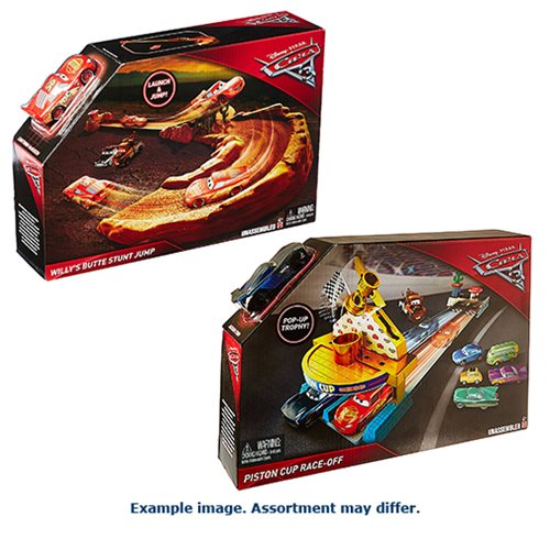Cars 3 Duel Racing Playset Case