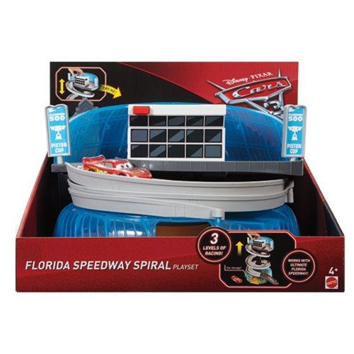 Cars 3 Florida Speedway Garage Playset