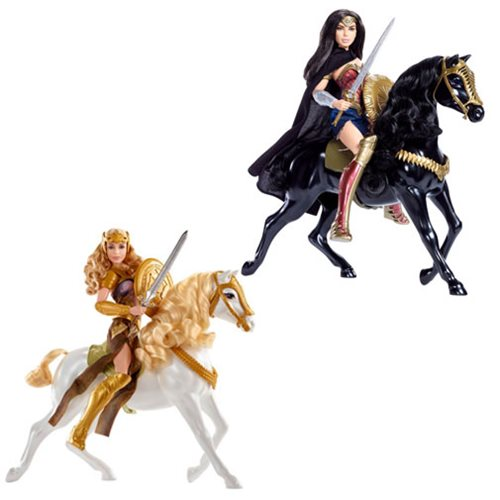 Wonder Woman Movie Doll and Horse 2-Pack Case