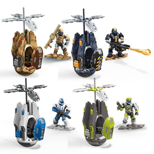 Halo Mega Construx Deluxe Drop Pod Mix