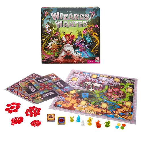 Wizards Wanted Board Game