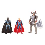 JL Movie Batman and Superman vs. Steppenwolf Figure 3-Pack