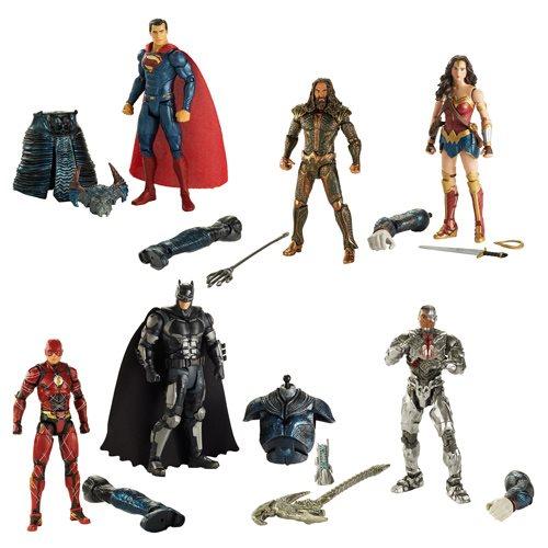 Justice League Movie Multiverse 6-inch Figure Wave 1 Case