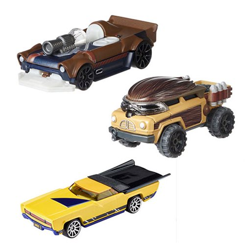 Star Wars Solo Hot Wheels Character Car Carship Wave 3 Case