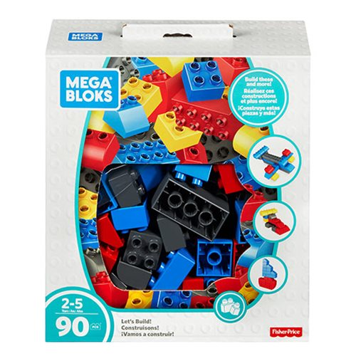 Mega Bloks Building Basics Let's Build Jumbo Classic Playset