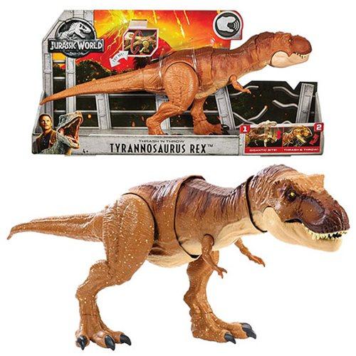 Jurassic World: Fallen Kingdom Thrash 'n Throw T-Rex Figure