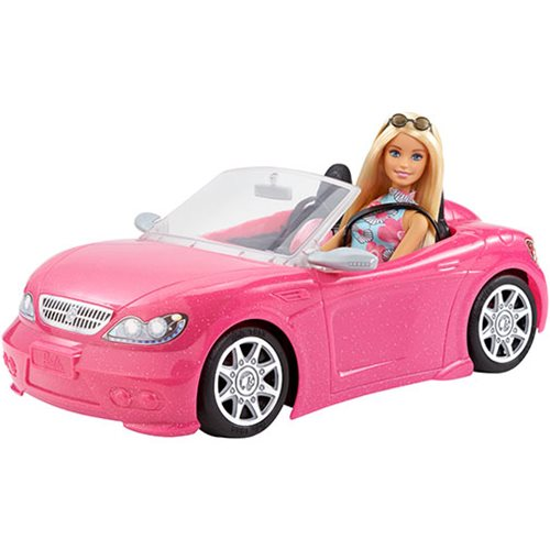 Barbie Doll and Convertible Car Set