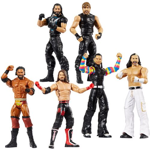 WWE Basic Series 59 Action Figure 2-Pack Case