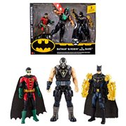 Batman Mission Batman and Robin vs. Bane Figure 3-Pack