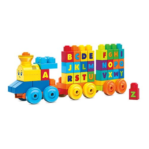 Mega Bloks First Builders ABC Musical Train Playset