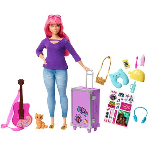 Barbie Daisy Travel Doll and Accessories