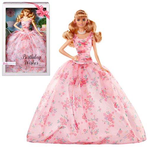 Barbie Birthday Wishes Caucasian Doll
