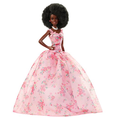 Barbie Birthday Wishes African American Doll