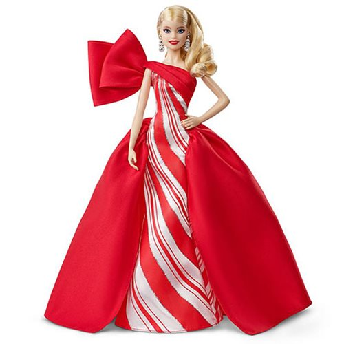 Barbie Holiday 2019 Blonde Curly Hair Doll