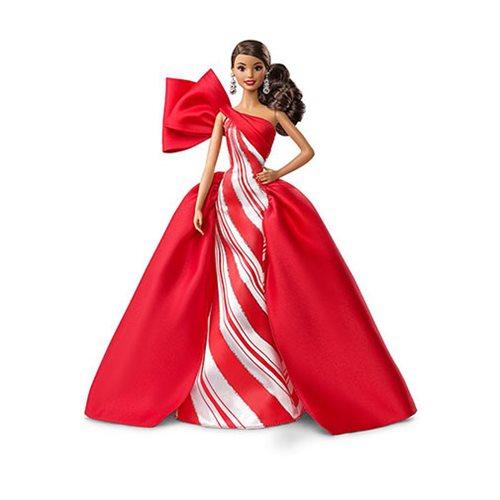 Barbie Holiday 2019 Brunette Side Ponytail Doll