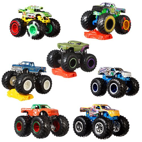 Hot Wheels Monster Trucks 1:64 Scale Vehicle Mix 9 Case