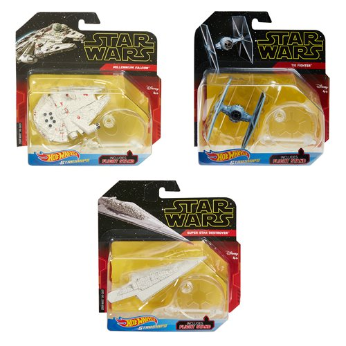 Hot Wheels Star Wars Starships Mix 5 Case