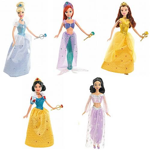 Disney Shimmer Princess Dolls Wave 1 Revision 1 Case