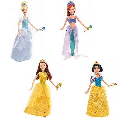Disney Shimmer Princess Dolls Wave 1 Revision 2 Case