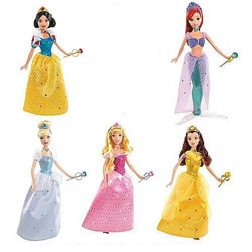 Disney Shimmer Princess Dolls Wave 2 Revision 1 Case