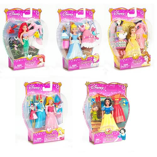 Disney Precious Princess Dolls Wave 1 Revision 1 Case