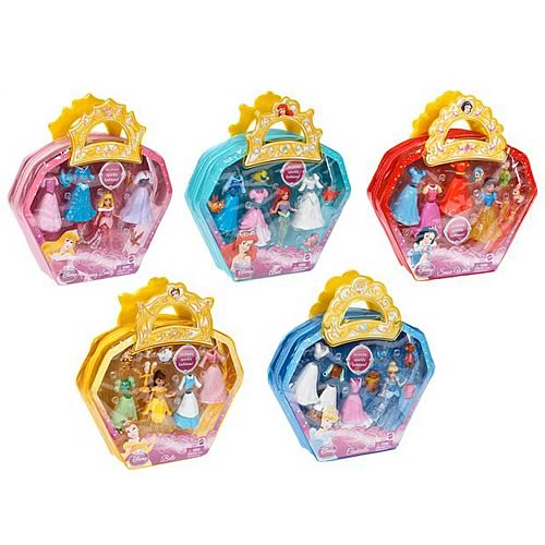 Disney Princess Precious Princess Doll Sets Wave 1 Rev. 1