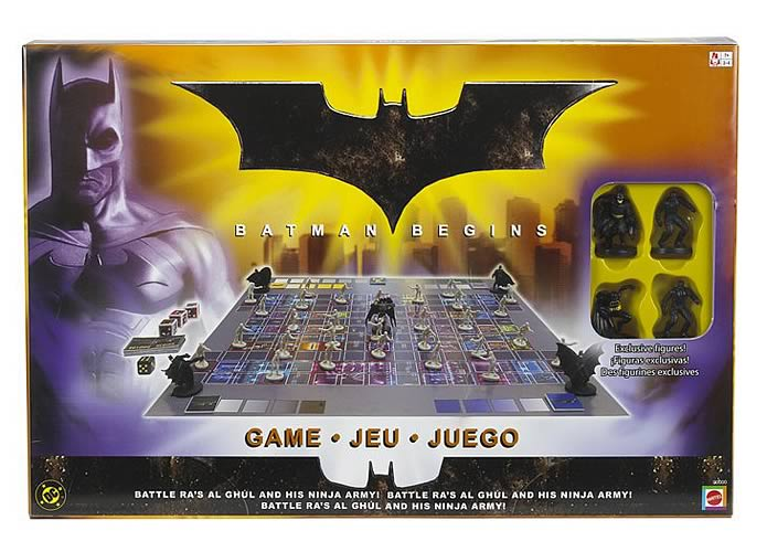 Batman Begins Shadow Assault Game