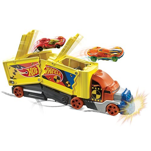 Hot Wheels Crashing Rig Vehicle